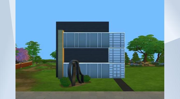 how to build a deck sims 4
