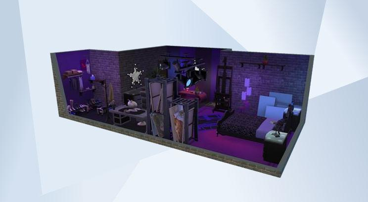The Sims The Gallery Official Site Fascinating Rockstar Bedroom Model