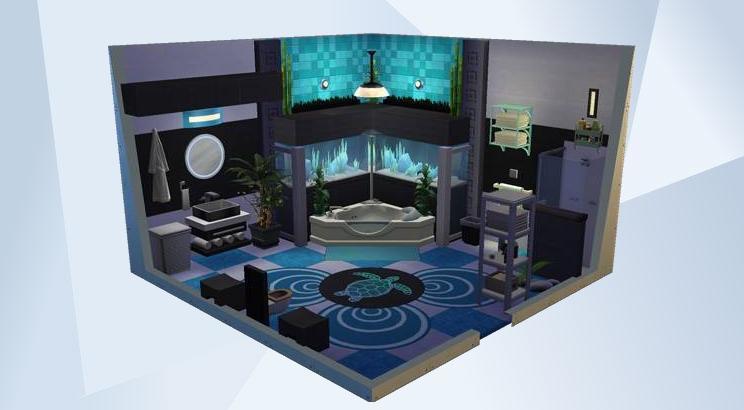 模拟人生 模拟工坊 官方网站, Under The Sea Bathroom